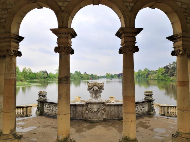 Le lac du château de Hever