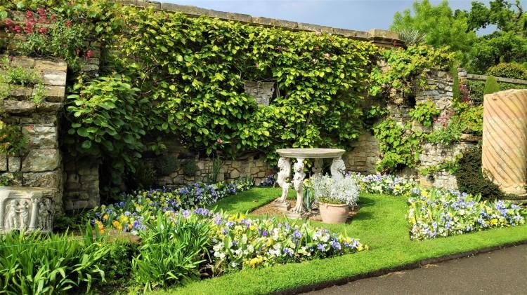 Les jardins du château de Hever dans le kent - Angleterre
