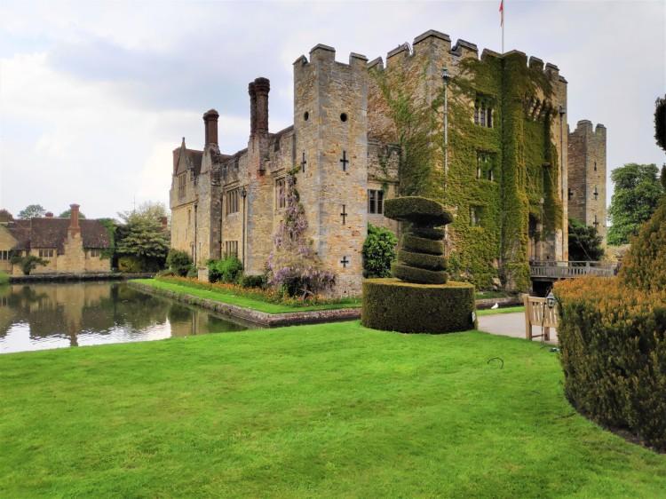 Le Château de Hever dans le Kent