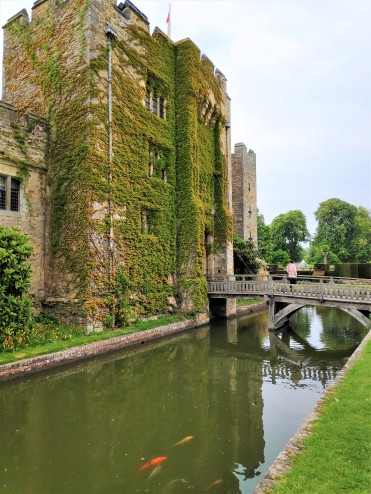 Château de Hever en Grande-Bretagne