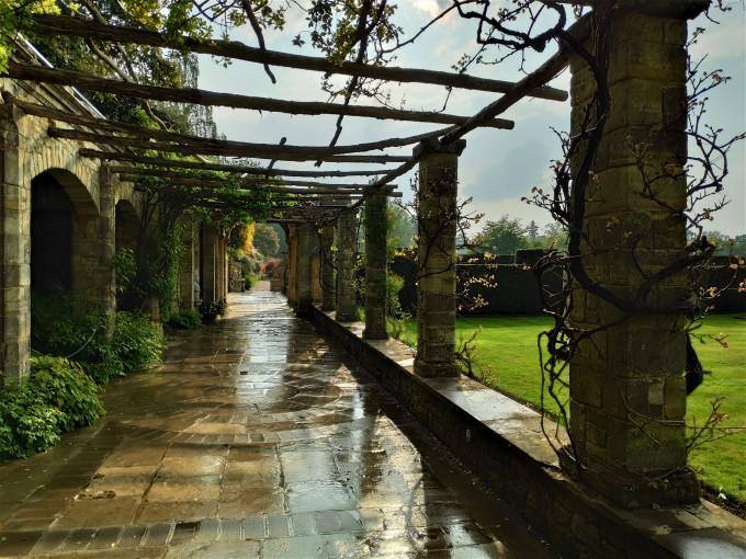 Dans les jardins du Château de Hever