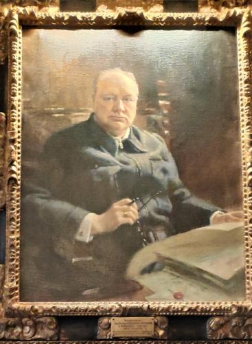 Représentation de Churchill à Chartwell