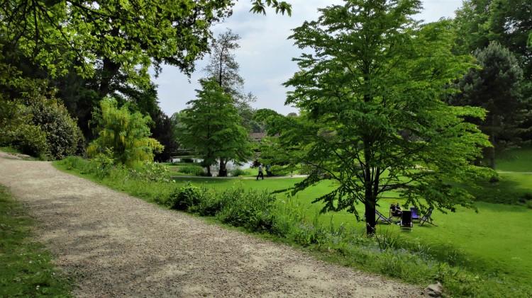 Les jardins du manoir d'Ightham Mote dans le Kent - Angleterre