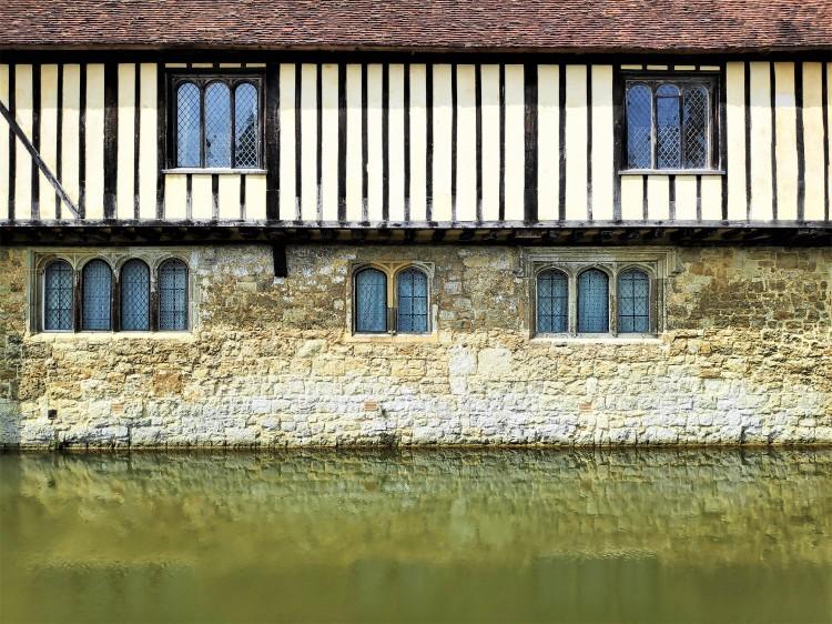Remarquable manoir d'Ightham Mote en Angleterre