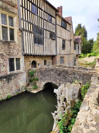Le manoir d'Ightham Mote dans le Kent