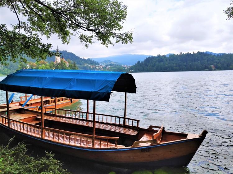 Pletna sur le Lac de Bled