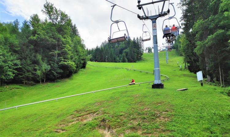 Luge d'été à Straza Bled