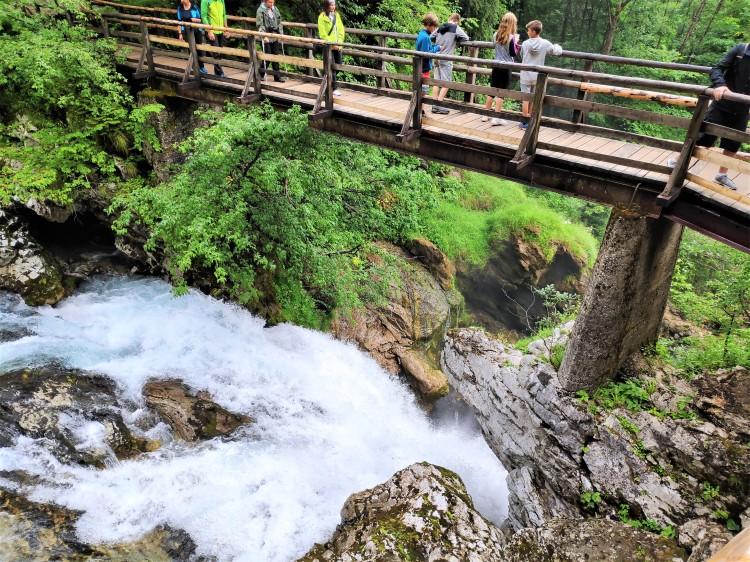 Découverte des Gorges de Vintgar en Slovénie