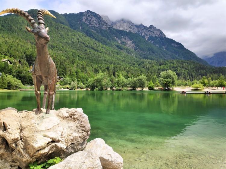 Zlatorog et le Lac Jasna