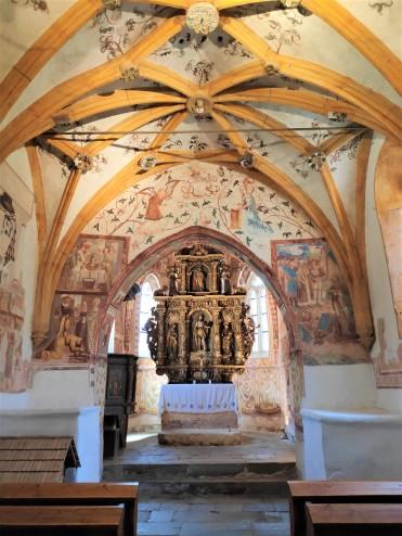 L'église Sv. Janeza Krstnika au Lac de Bohinj