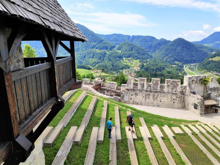 Château de Celje en Slovénie
