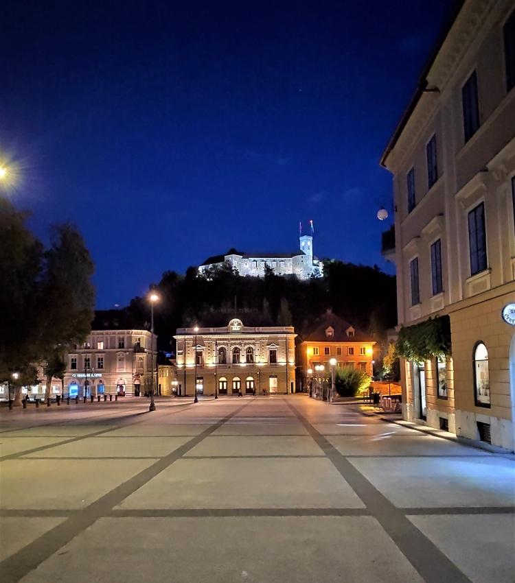 Ljubljana la nuit