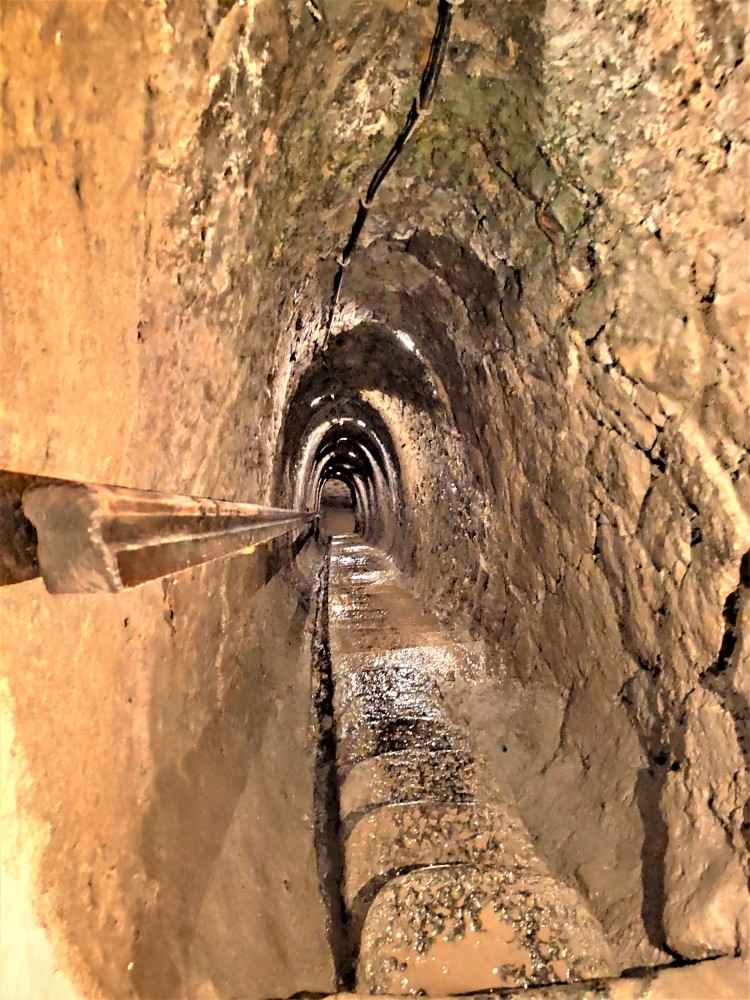 Mine de mercure à Idrija en Slovénie
