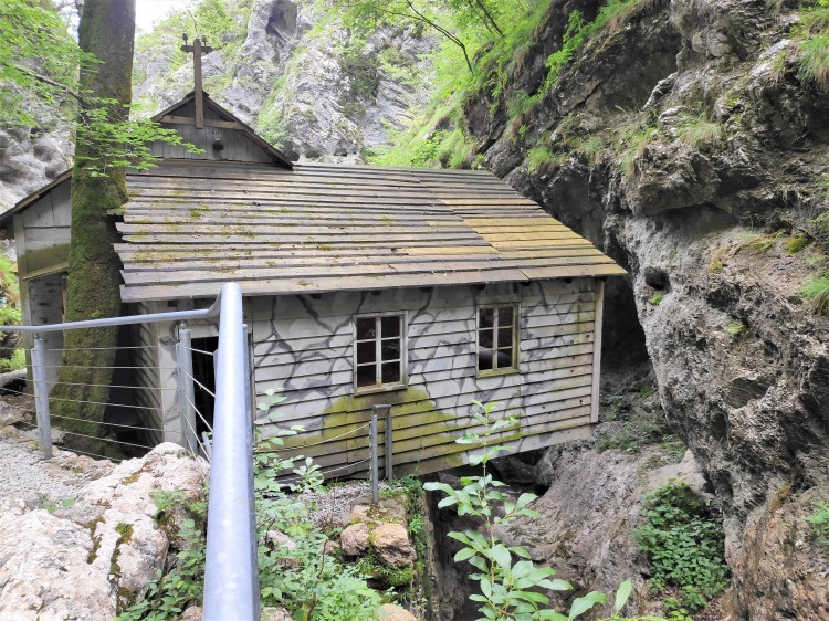 Hôpital des partisans Franja en Slovénie