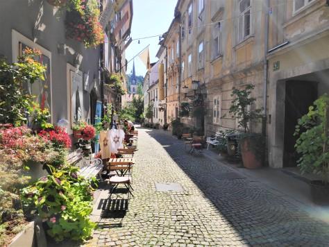 Jolie rue de Ljubljana