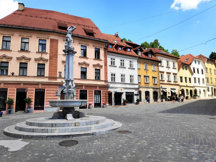 Vieille ville de Ljubljana
