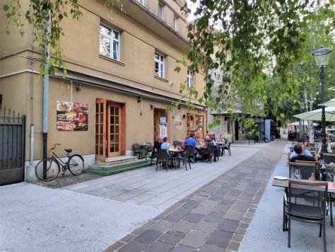 restaurant de Krakovo à Ljubljana