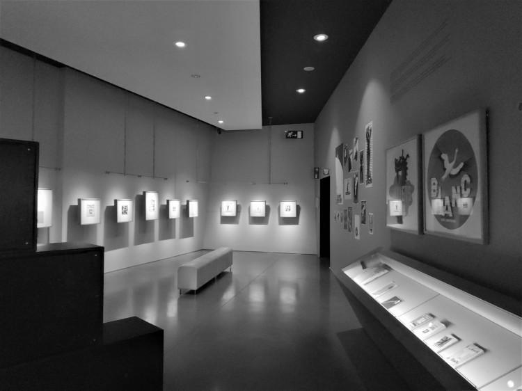 Une salle au musée Hergé