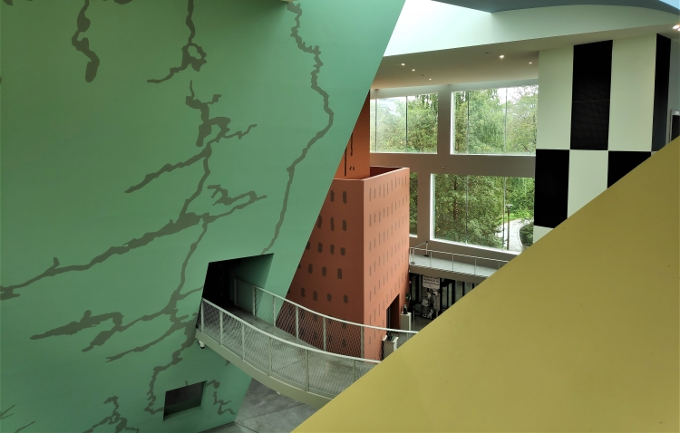 L'audacieux bâtiment du musée Hergé