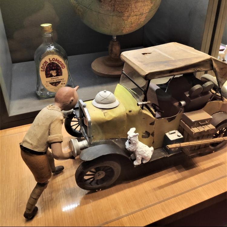 Figurines aux Musée Hergé - Belgique