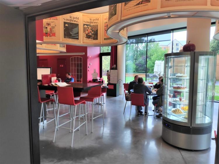 Restaurant le Petit Vingtième au musée Hergé