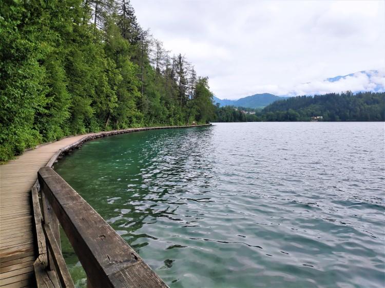 Tour du lac de Bled à pied