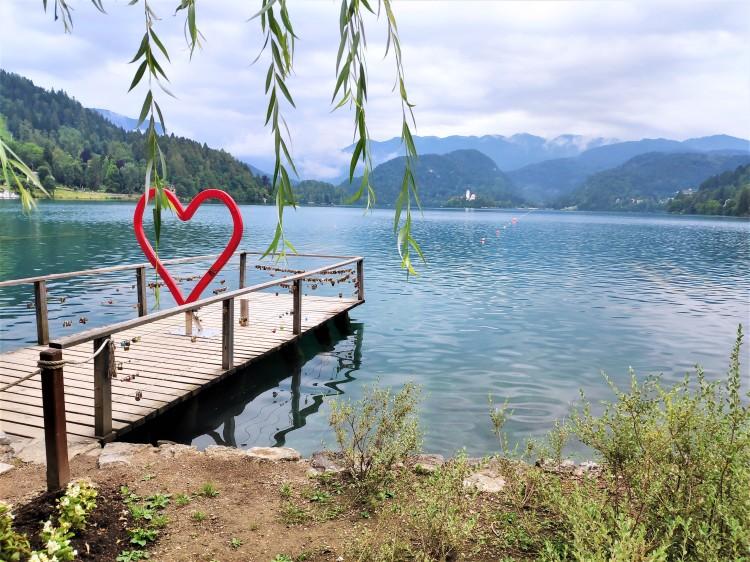 L'amour au Lac de Bled