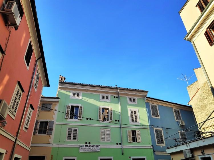 Ciel bleu azur sur Piran