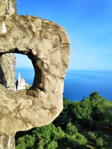 Les remparts de Piran en Slovénie