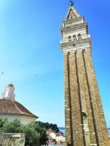 Le campanile de Piran