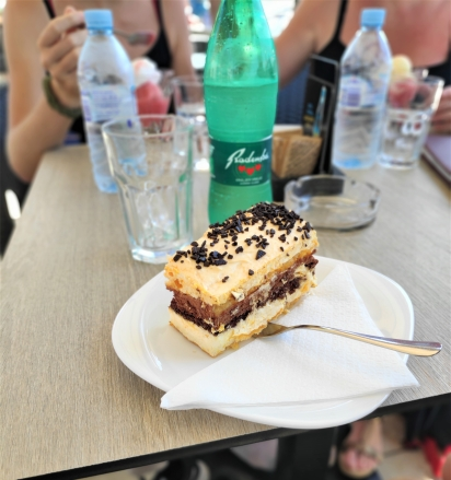 Izolanka, une pâtisserie de la ville de Izola en Slovénie