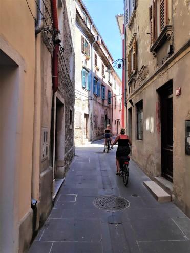 Dans les ruelles d'Izola