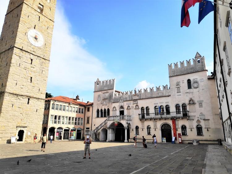 Titov trg à Koper en Slovénie