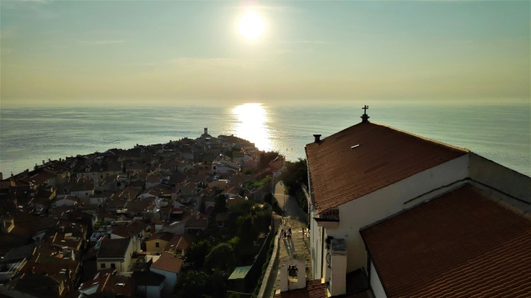Coucher de soleil à Piran, Slovénie