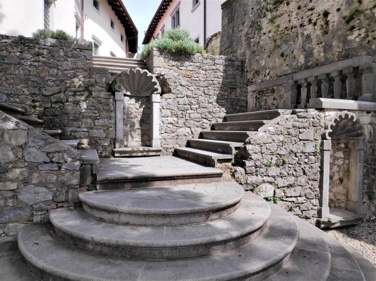 Dans le village de Stanjel en Slovénie