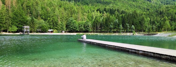 Lac Jasna, Kranjska Gora, Slovénie
