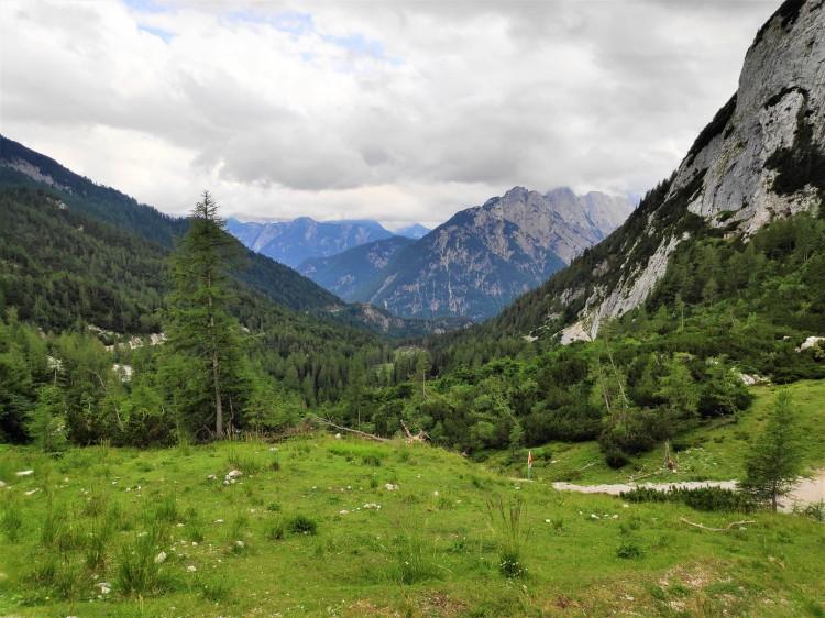 Col de Vrsic, Slovénie