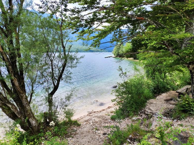 Le lac de Bohinj, naturel et sauvage