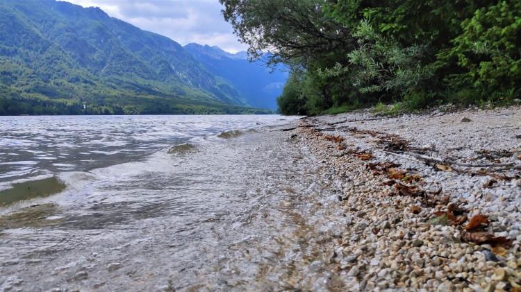 Lac de Bohinj, parc national du Triglav