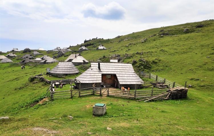 Alpage slovène de Velika Planina