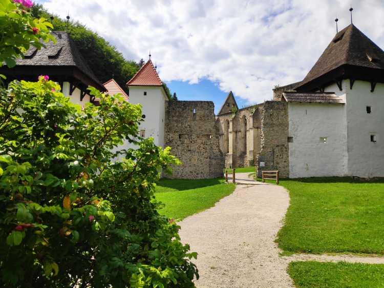 Slovénie, chartreuse de Zice