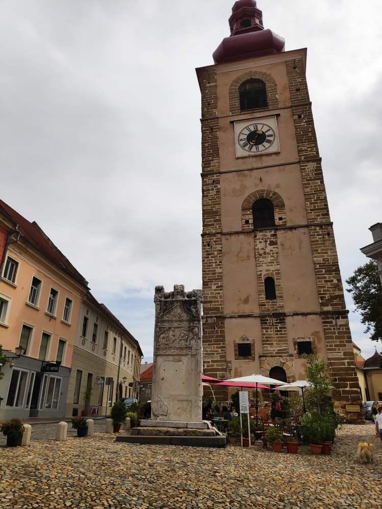 La colonne d'Orphée, Ptuj