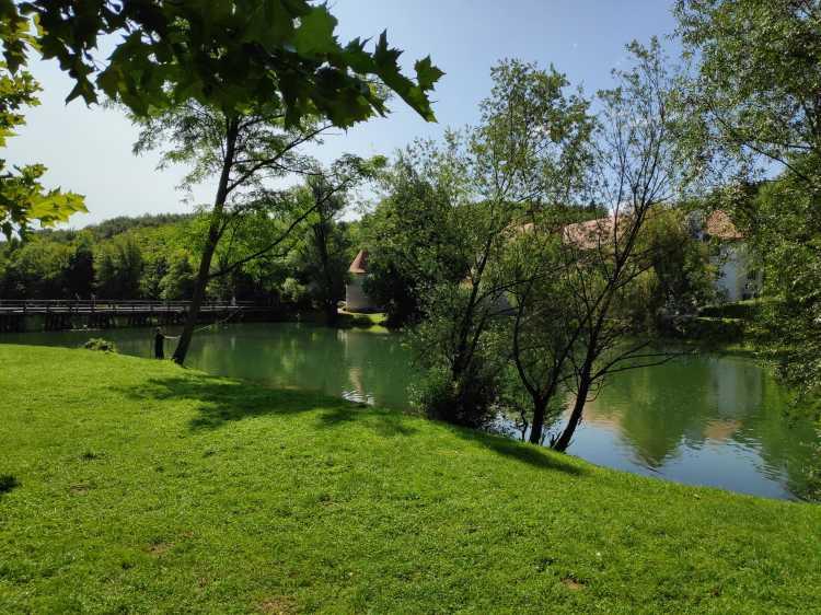 La rivière Krka, Slovénie