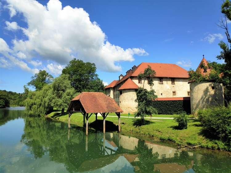 Le château d'Otocec, Slovénie