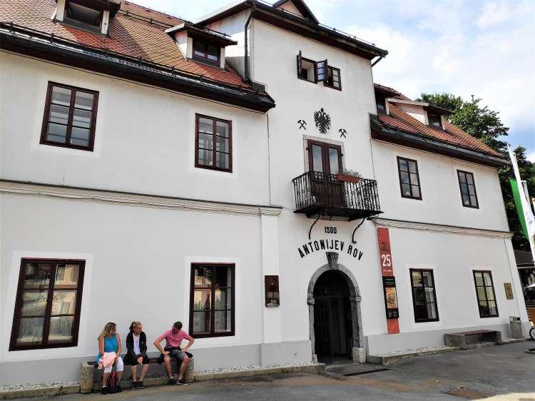 Galerie-mine d'Antonij à Idrija