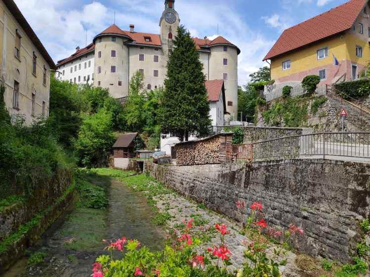 Château Gewerkenegg, Idrija, Slovénie