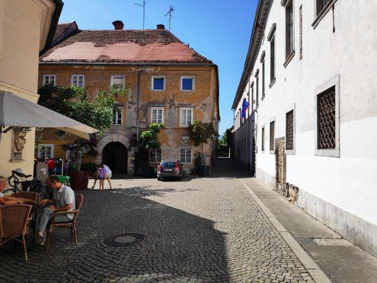 Les jolies rues de Ljubljana, Slovénie