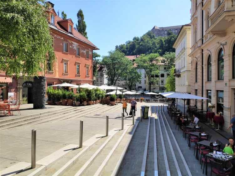 Calme et sérénité dans le centre de Ljubljana