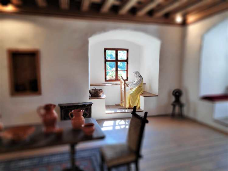 La vie au château de Predjama