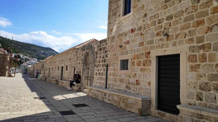 Les lazarets, Dubrovnik